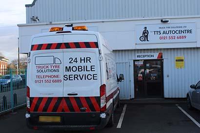 TTS Van on call